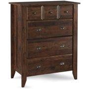 Better Homes & Gardens Leighton 4-Drawer Dresser, Rustic Cherry Finish