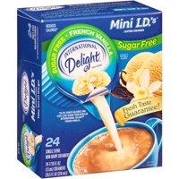 (6 Pack) International Delight Sugar Free French Vanilla Creamers, 24 Ct