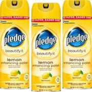 Pledge Lemon Enhancing Polish 9.7 oz