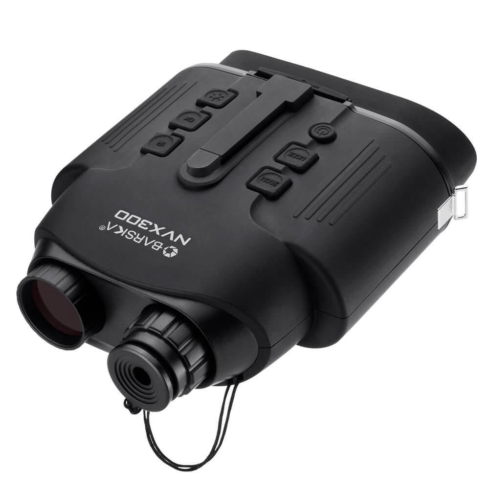 Barska夜视VISION NVX300红外照明器数字双筒望远镜