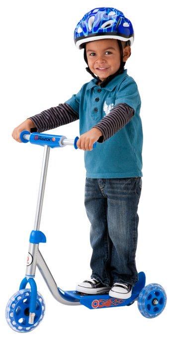- Razor Jr. 3-Wheel Lil' Kick Scooter -