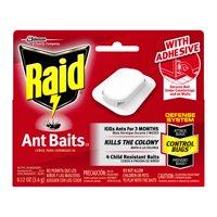 Raid Ant Baits III, 4 count
