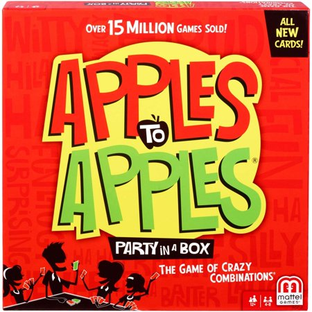 Apples to Apples Party in a Box for 4-8 Players Ages 12Y+ - Apples For The Teacher