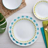 Corelle Livingware South Beach Dinnerware Set, 16 Piece