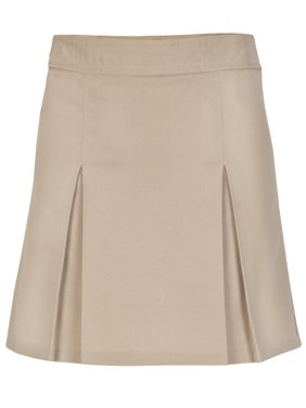 Girls Pleat Front Scooter Skirt School Uniform Approved