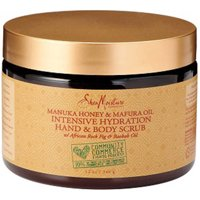 SheaMoisture Manuka Honey & Mafura Oil Intensive Hydration Body Scrub, 12 oz