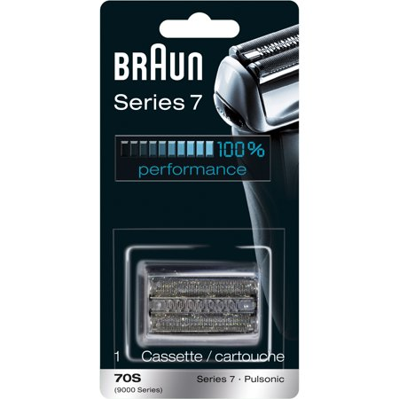 Braun Shaver Replacement Part 70 S Silver - Compatible with Series 7 - Shaver Replacement