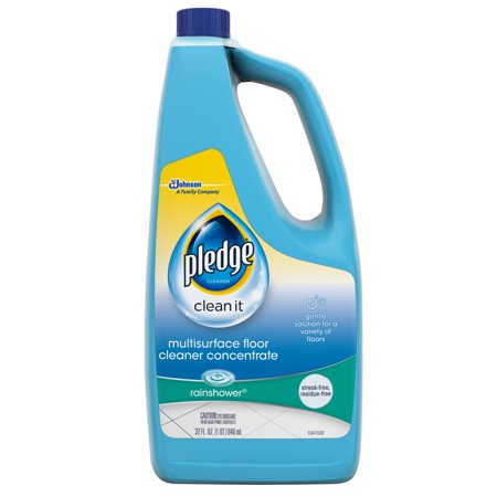 Pledge Multisurface Floor Cleaner Concentrate, Rainshower, 32 fl