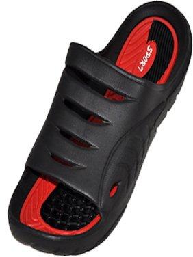 Cinco Men's Rubber  Sandal Slipper Comfortable Shower Beach Shoe Slip On Flip Flop
