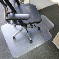 "Zimtown PVC Carpet Chair Mats,for Carpeted Floors with Lip, Transparent Desk Chair Mat 36""x 48"""