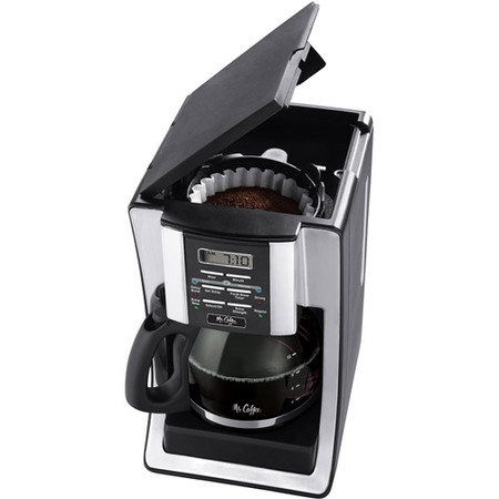 Mr. Coffee 12 Cup Programmable Black Coffee Maker 8 Cup Programmable Thermal