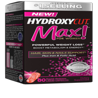 Hydroxycut Pro Clinical Max! For Women Diet Supplement Rapid Release Ctules, 60 Ct