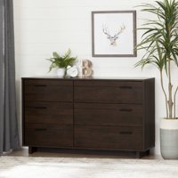 South Shore Fynn 6-Drawer Double Dresser, Multiple Finishes