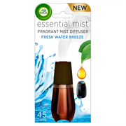 Air Wick Essential Mist Fragrance Oil Diffuser Refill, Fresh Water Breeze, 1ct