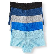 7ce5a9c3a No Boundaries 5 Pack Lace Cheeky