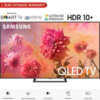 "Samsung QN75Q9FNA 75"" Q9FN QLED Smart 4K UHD TV (2018 Model) - (Certified Refurbished) with 1 Year Extended Warranty"