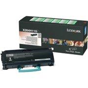 Lexmark, LEXX264H11G, X264A11G/H11G Toner Cartridges, 1 Each
