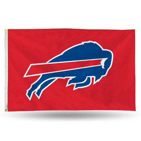Rico Industries NFL 3' x 5' Banner Flag, Buffalo Bills - Buffalo Nfl