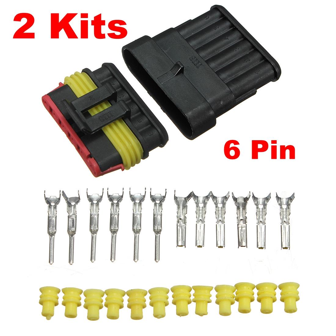 7 way connector kits 6 Pin Trailer Tow Wiring