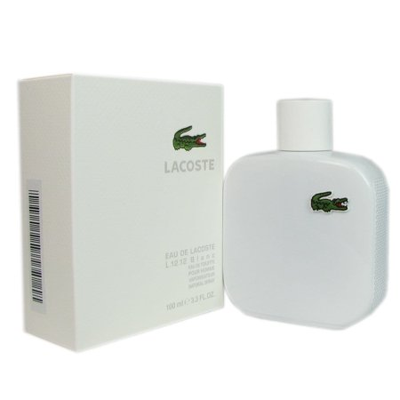 Lacoste  Eau de  L.12.12 Blanc Men's 3.3-ounce Eau de Toilette Spray