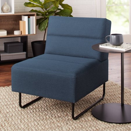Uno Lounge Chair (Mainstays Fulton Modern Lounge Chair, Available in Multiple Colors )
