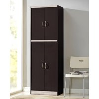 Hodedah 4-Door Pantry