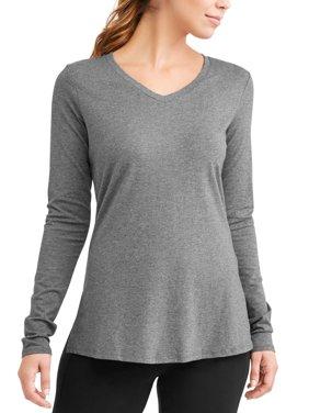 Women's Active Long Sleeve Super Soft Yoga T-Shirt