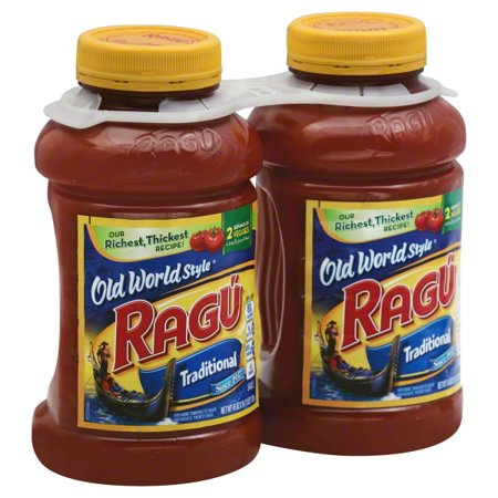Ragu Old World Style Traditional Pasta Sauce 45 oz. each (Pack of 2)