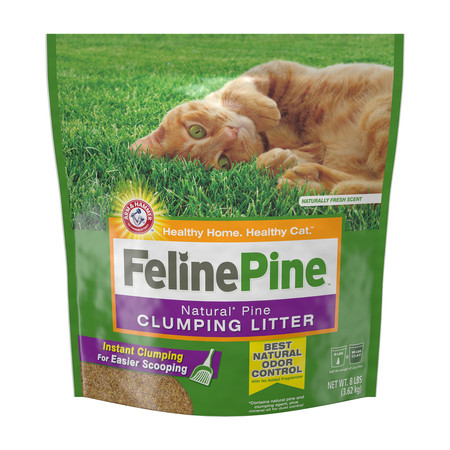 Automatic Pipe - Feline Pine Cat Litter Clumping, 8-lb