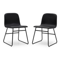 MoDRN Industrial Dax Dining Chair, Set of 2, Multiple Colors