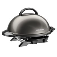 George Foreman Gun Metal 15+ Serving Electric Grill, 1 Each