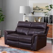 Pleasing Bonded Leather Loveseat Alphanode Cool Chair Designs And Ideas Alphanodeonline