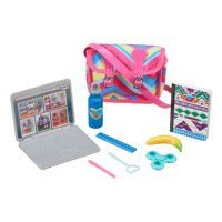 My Life As School Toy Accessories Play Set for 18-inch Dolls, 9 Pieces
