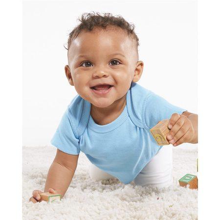 Rabbit Skins T-Shirts Infant Baby Rib Tee - Baby Chipmunk For Sale