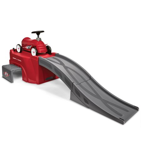 Walmart: Radio Flyer, Flyer 500 Ride-On with Ramp and Car, Red Only $69