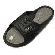 9d7976a512e5 0138 Men s Rubber Slide Sandal Velcro Strap