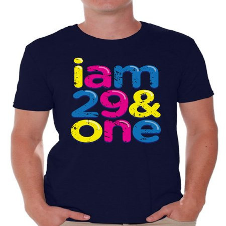 Awkward Styles I Am 29 & One Tshirt Thirty Shirt Birthday Gifts for Men B-Day Party Thirtieth Party Shirt Thirtieth Birthday 30th Birthday Party Funny Birthday Shirts for Men Awesome Thirty Year Old](30th Birthday Ideas For Men)