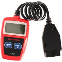 Hyper Tough OBDII CAN Diagnostic Code Reader, Red