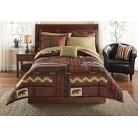 Mainstays Cabin Bed in a Bag Coordinating Bedding Set