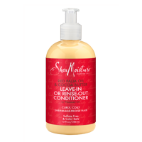 Red Palm Oil & Cocoa Butter Leave-In or Rinse-Out Conditioner - Moisturizes and Elongates 3-4c Hair - Sulfate-Free with Natural & Organic Ingredients - Softens and Hydrates Coily, Kinky Hair (13 oz)