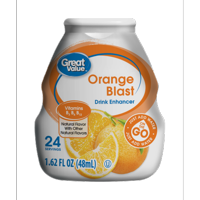 (10 Pack) Great Value Drink Enhancer, Orange Blast, 1.62 fl oz