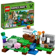 Hot Wheels Minecraft Track Blocks Abandoned Mineshaft Play