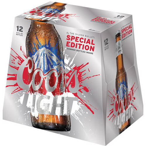 Coors Light Cold Activated Beer, 12 pack, 12 fl oz