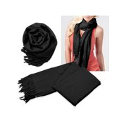 d7a58a6f7818a Fashion Women's Scarf Lightweight Long Scarfs Luxury Lady Classic Range  Pashmina Silk Solid colors Wraps Shawl