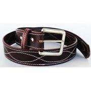 cfa33d9aebf Western Heavy Duty Men Women Genuine Thick Cow Leather Belt Brown 2642RS