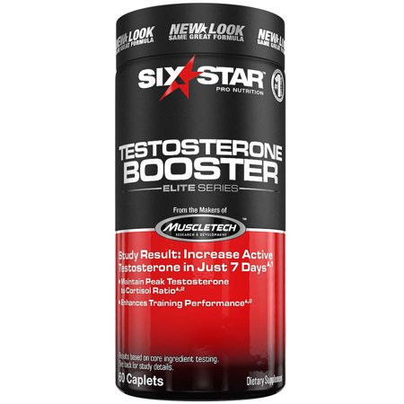 Six Star Pro Nutrition Testosterone Booster Capsules, 60 (Best Muscle Building Testosterone Supplement)
