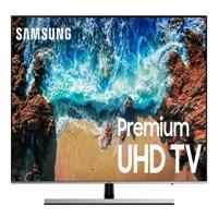 "Refurbished Samsung 8000 Series 65"" Premium 4K Smart UHD HDR LED TV, UN65NU8000"