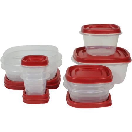 Rubbermaid Food Storage Containers with Easy Find Lids, 18-Piece (Out Box Set)