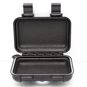 Car GPS Tracker Case - Weatherproof Mini Portable Waterproof Case Stash Box With Magnetic Mount for Under Car