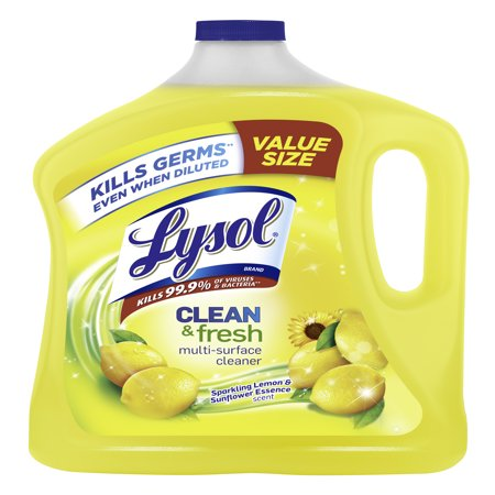 Lysol Clean & Fresh Multi-Surface Cleaner, Lemon & Sunflower,
